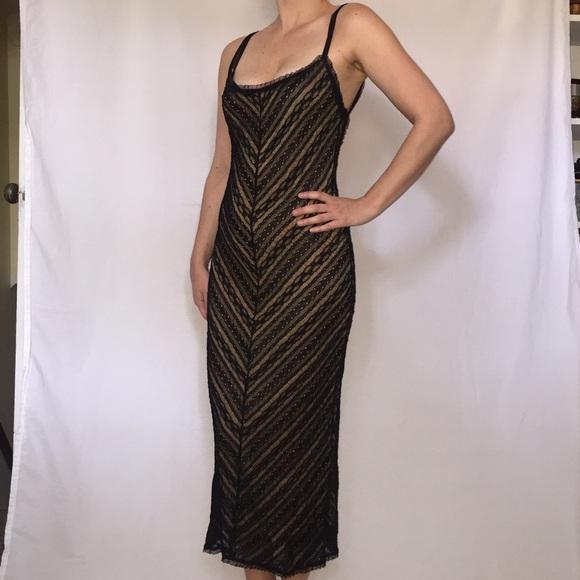 033c04a95d Stunning Vintage Black Lace Dress. M 5b6a3c1f9264af2a7db3331d. Other Dresses  ...